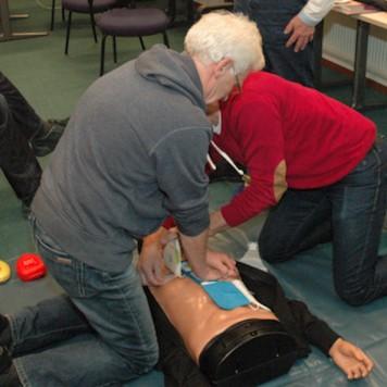 AED Training Lions Oss de Maashorst